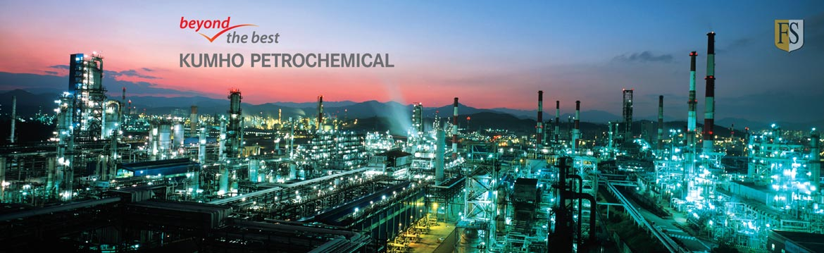 cables repairs Kumho Petrochemical complex in Yeosu, South-Korea