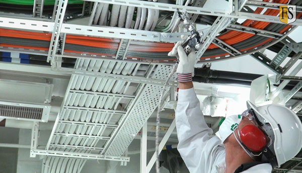 fire protection engineering products like FS1 Coating application from Fire-Security