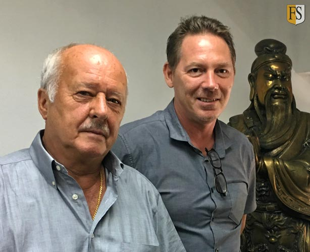 Steve Baldry and Paal Mathisen