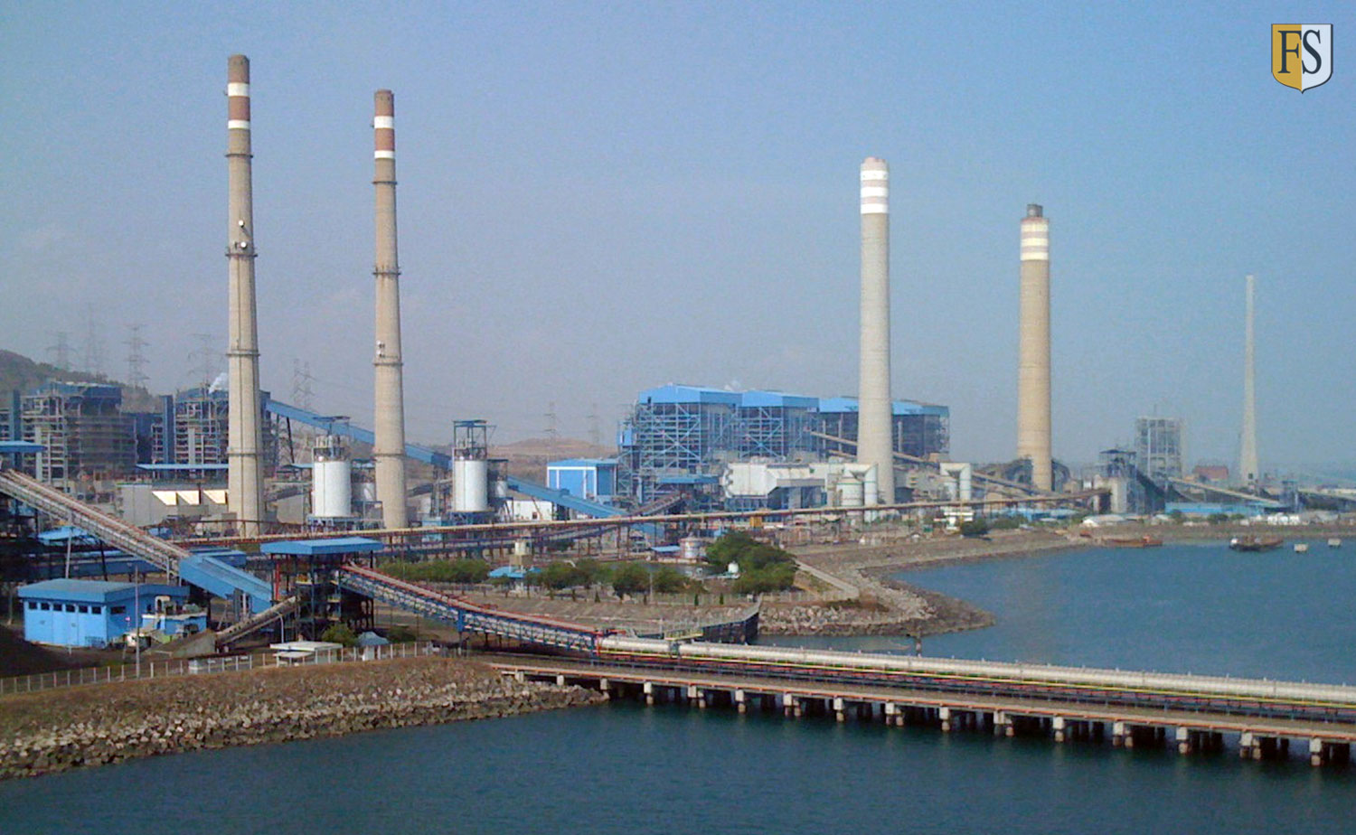 YTL Jawa Power - Paiton Power Complex in East Java.