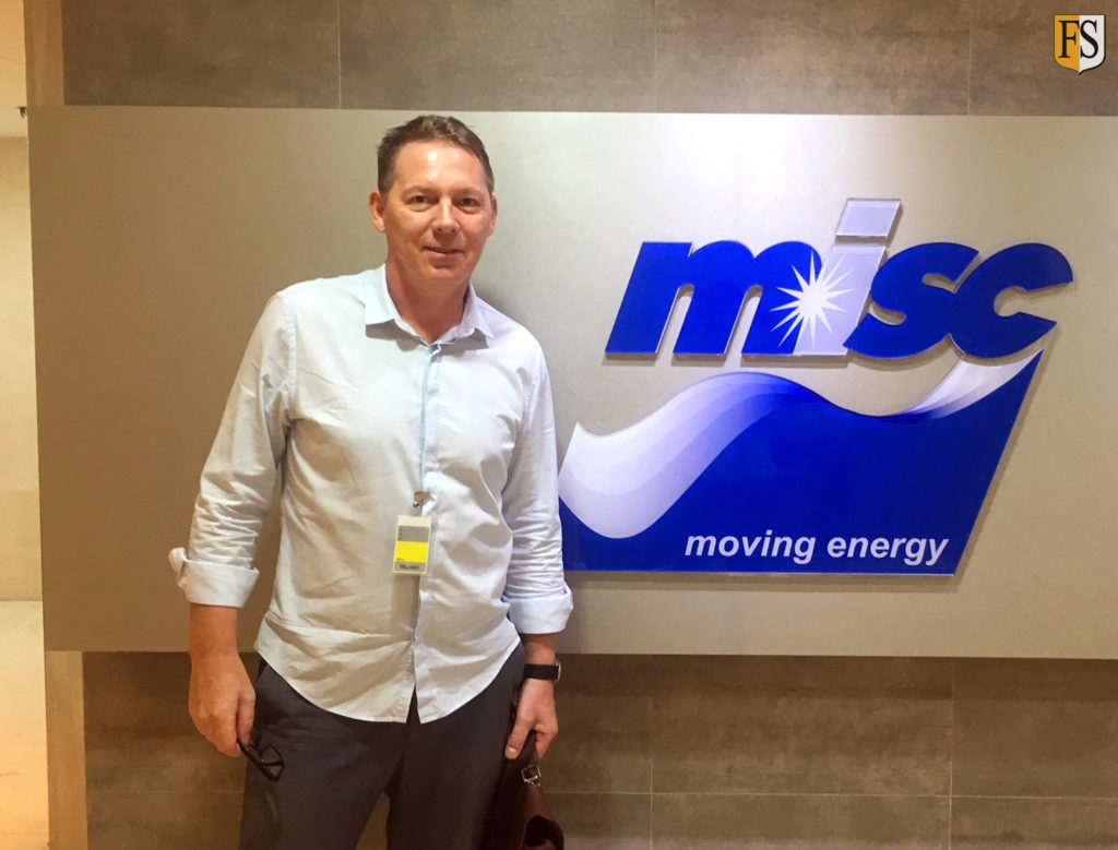 Fire Security in Kuala Lumpur for meeting with misc LNG Fleet