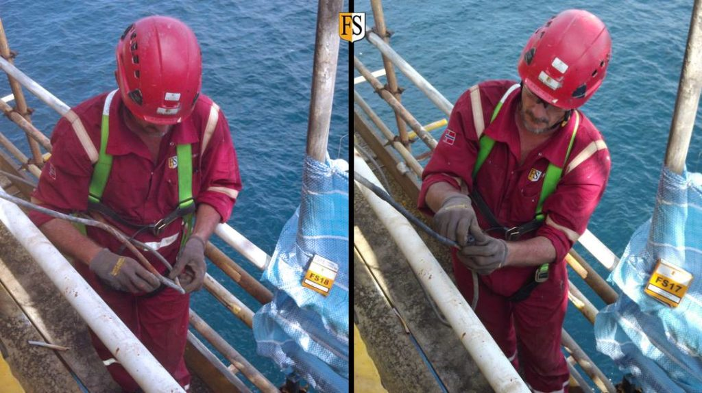 Cable repair and life extension on offshore platform
