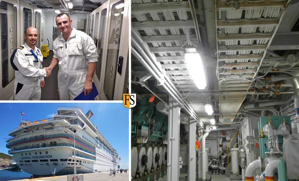 Completed 10 year recertification of cable coating on board Carnival Fascination