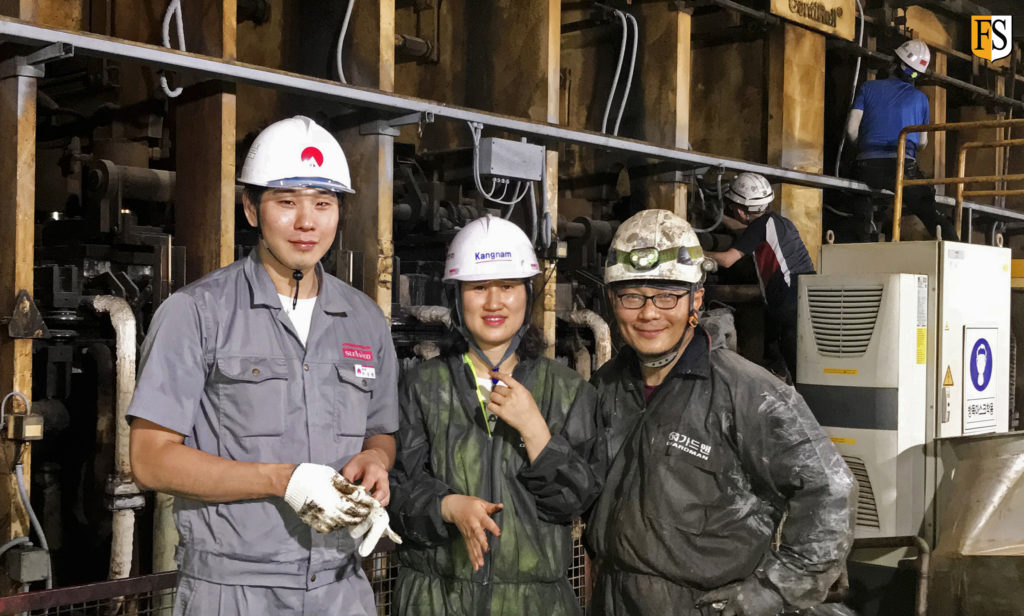 Fire Security, cable fire protection at factory in South Korea