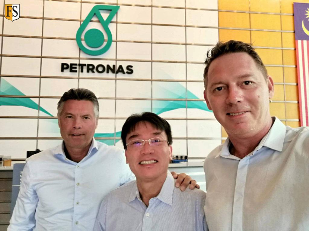 Meeting with Petronas in Kuala Lumpur