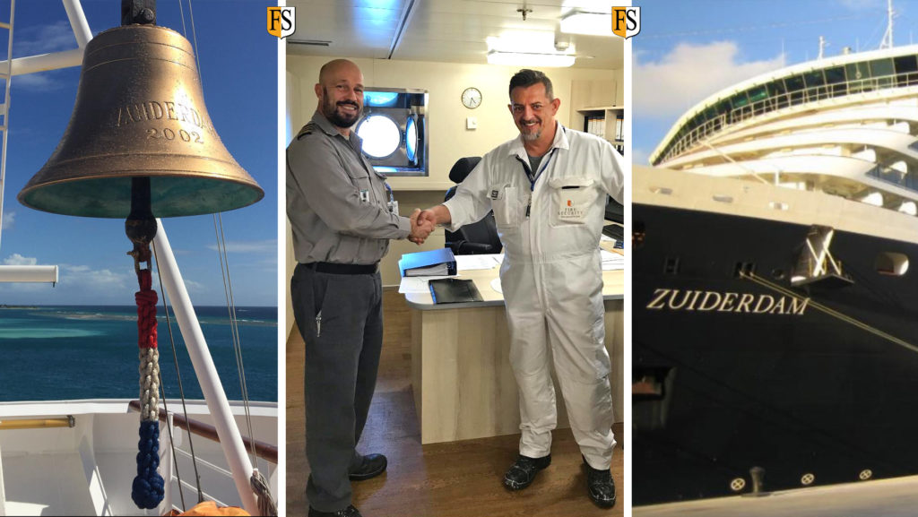 Re certification of electrical cables on board Zuiderdam from Holland America
