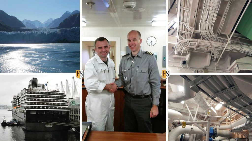 Safety at Sea in Alaska by Fire Securitys cable coating crew