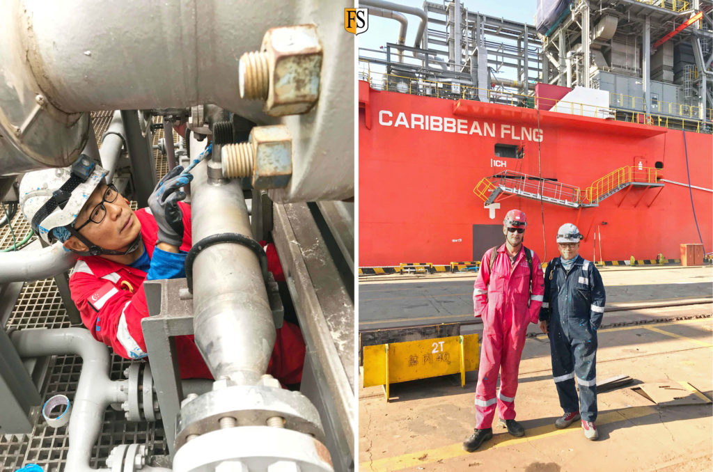 China-UV-protection-and-crack-repair-of-electrical-and-instrumental-cables-onboard-Caribbean-FLNG