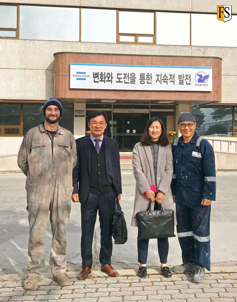 Llife extension of electrical cable project with our agent Kangnam Drive in South Korea